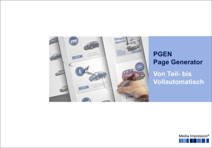 Präsentation PGEN